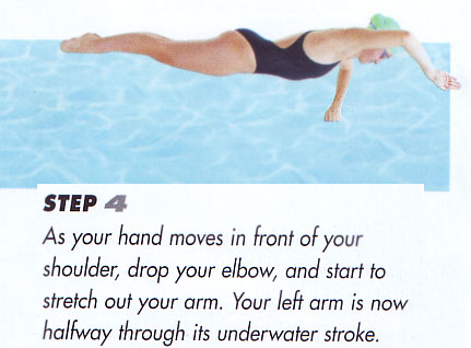 Left hand appears as a fist and the right hand is not going to do much pulling on the water at that angle!